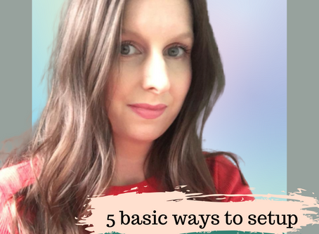 Guest blog: 5 Basic ways to setup social media                             by Hayley Sehmer