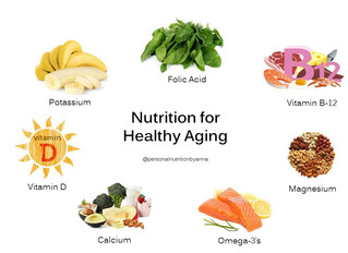 Important Nutrients for a Healthy Aging