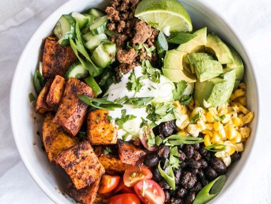 It's winter... Time for a Buddha Bowl!