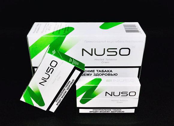 Табачные стики NUSO Green 10 пачек