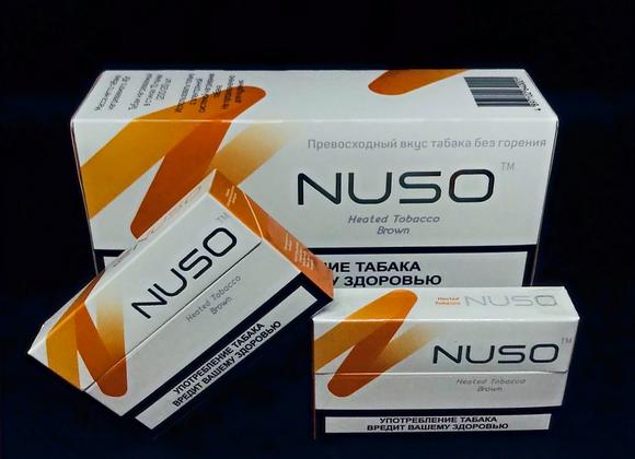 Табачные стики NUSO Brown 10 пачек