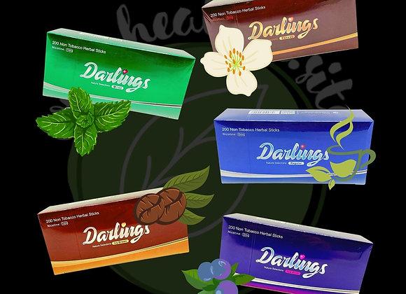 Безникотиновые стики Darlings 10 пачек (блок)