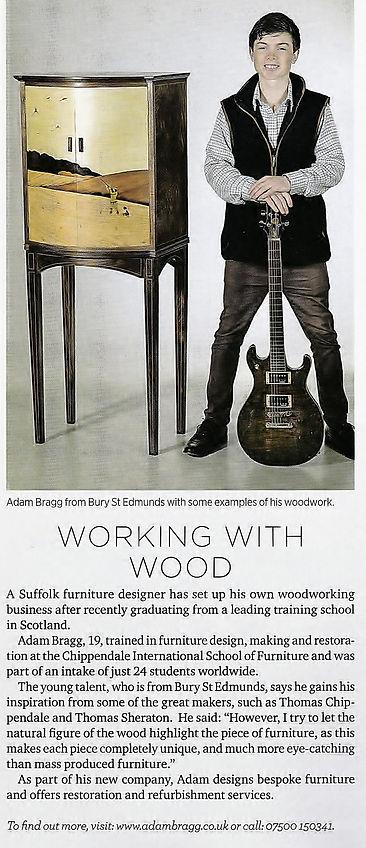 Adam Bragg Suffolk Magazine September 2016