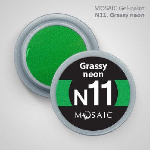 "Mosaic ""Grassy Neon"""
