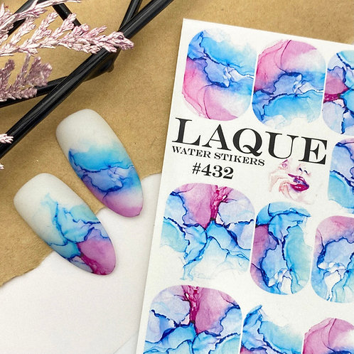 LAQUE Water Stickers #432