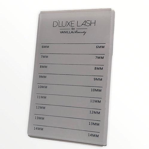 D'LUXE Lash Acrylic Pallet
