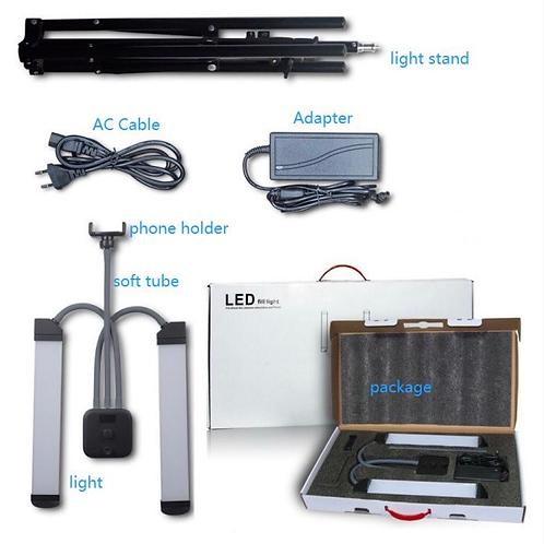 Double-Arm Led Portable Light