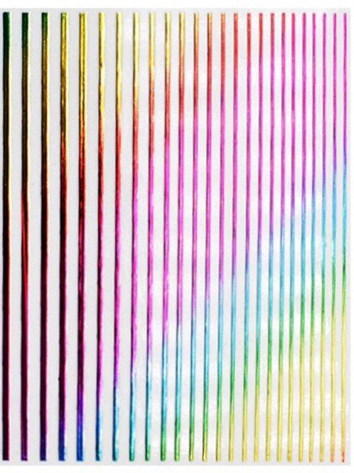 RAINBOW- 3D Nail Decoration Sticker