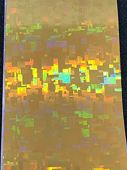 Gold Holo Transfer Foil 05