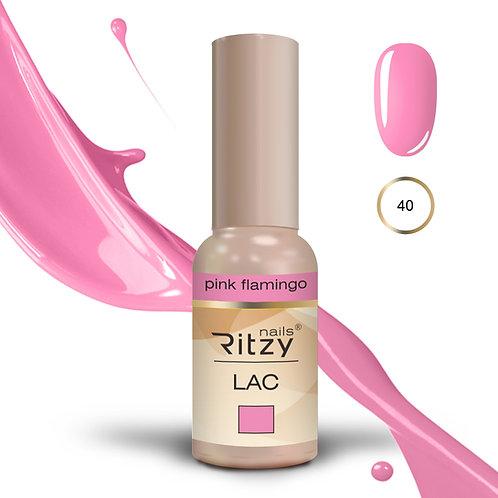 """pink flamingo"" 40 RITZY Lac"