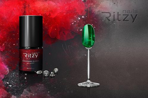 """Bohemian Glass"" Gel Polish ""Emerald"""