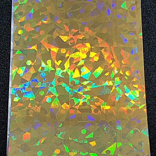 Gold Holo Transfer Foil 06