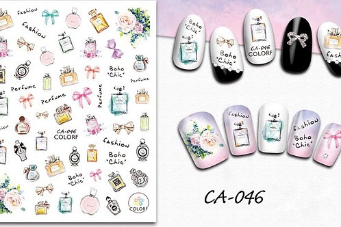 CA-046 3D Nail Decoration Stickers