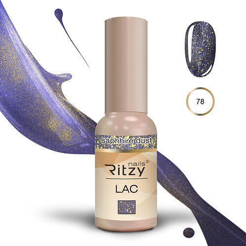 """""""saphhire dust"""" 78 RITZY Lac"""