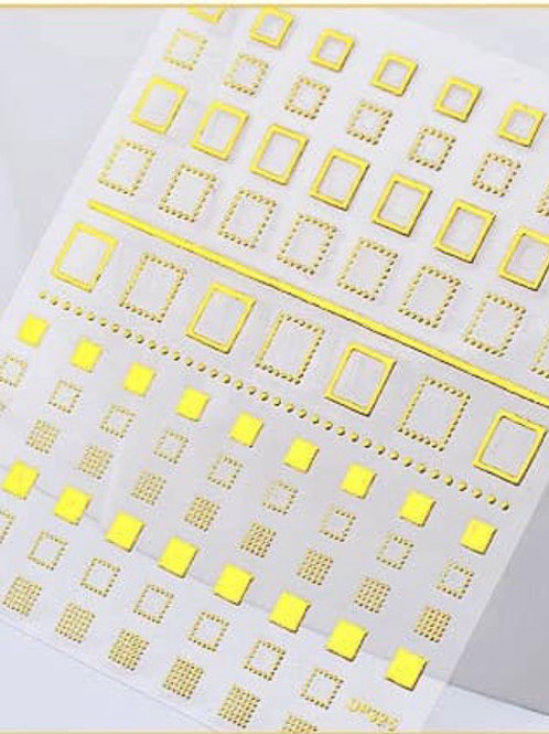 DP325 - 3D Nail Decoration Sticker
