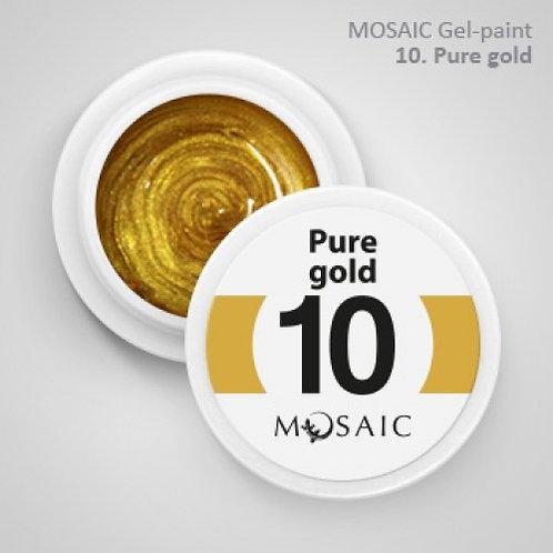 """Pure Gold"" Gel Paint"