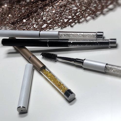 Eyelash/Eyebrow Reusable Brush with Cap
