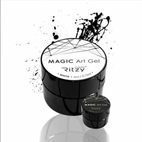 """WHITE"" MAGIC Art Gel"