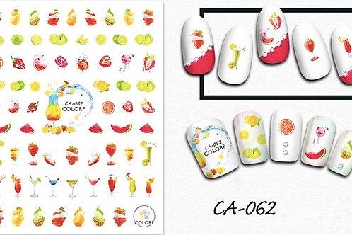 CA-062 3D Nail Decoration Sticker