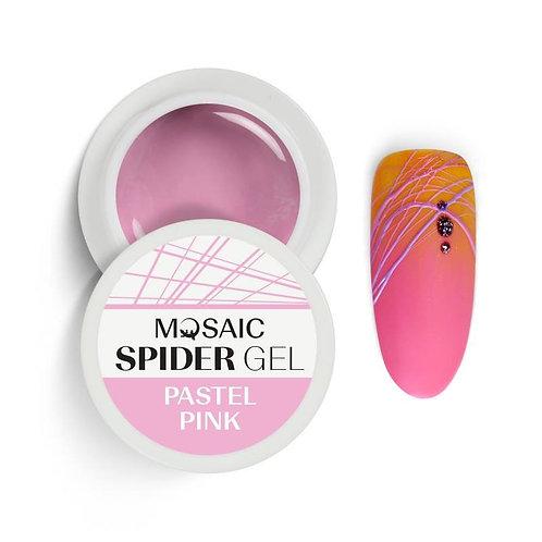 """""""Pastel Pink"""" Mosaic Spider Gel"""