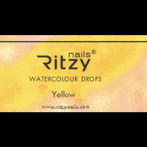"RITZY Watercolour ""Yellow"""