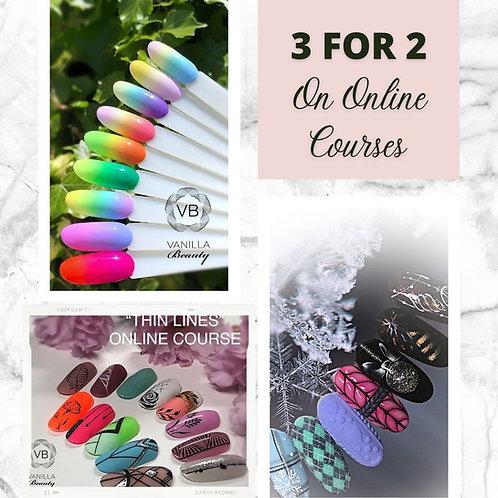 3 Online Nail Art Courses