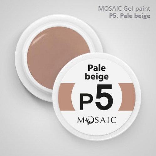 """Pale Beige"" Gel Paint"