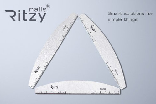"""100/100 Ritzy Nails File """"Ruler"""""""