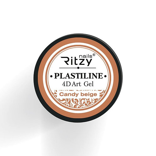 "PlastiLine 4D art gel ""Candy beige"""