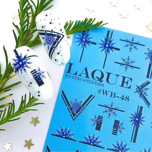 LAQUE #WB-48 Water Stickers