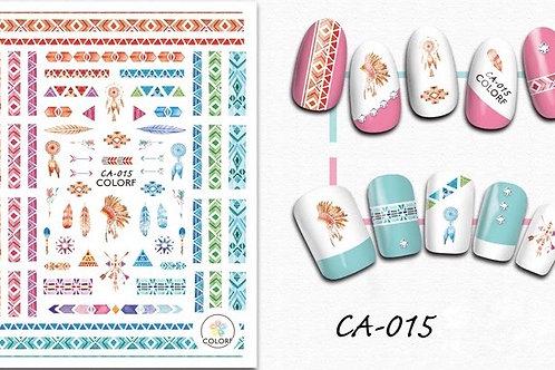 CA-015 3D Nail Decoration Sticker