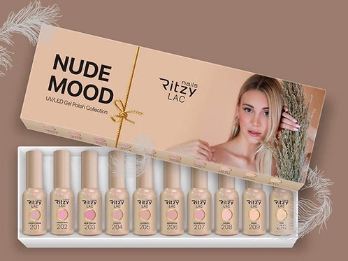 """""""Nude Mood"""" RITZY Lac Collection (10 colours) bac"""