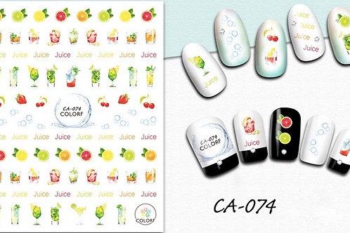 CA-074 3D Nail Decoration Sticker