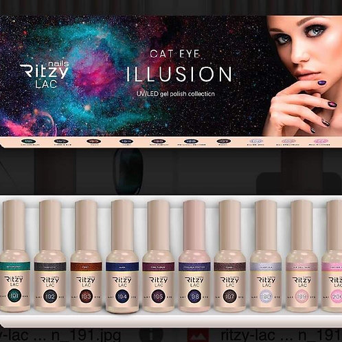 ILLUSION Cat Eye Gel Polish Collection (10 colours)