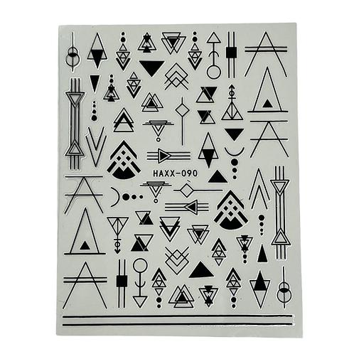 Geometry Nail Art Stickers HAXX-090