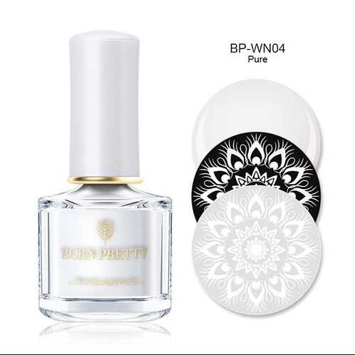 """Pure"" - White Stamping Polish 10 ml"