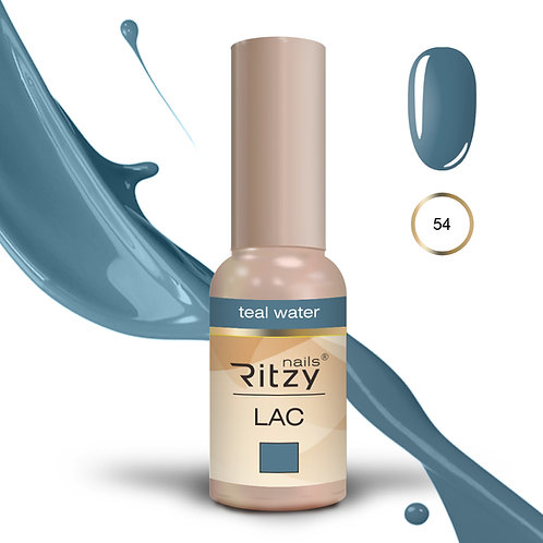 """""""teal water"""" 54 RITZY Lac"""