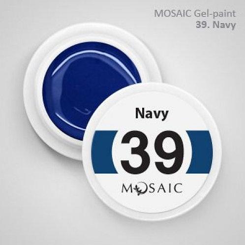 """Navy"" Gel Paint"