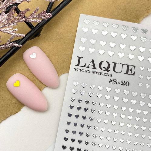 LAQUE Stickers #S-20 Silver