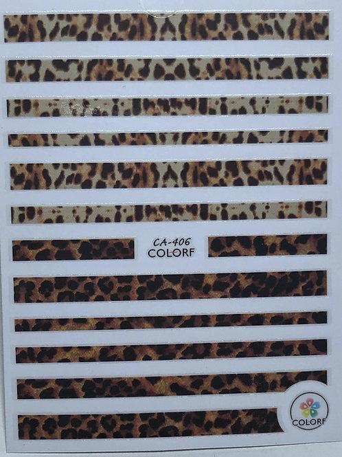 CA-406 3D Nail Decoration Sticker