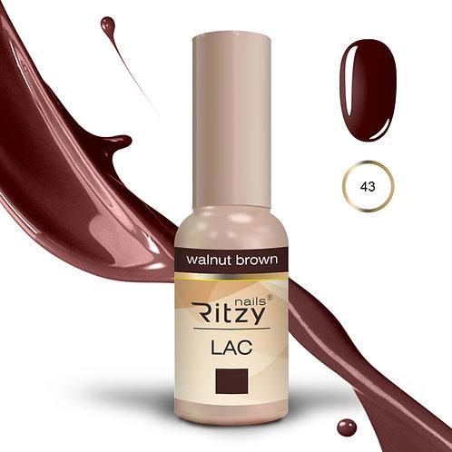 """walnut brown"" 43 RITZY Lac"