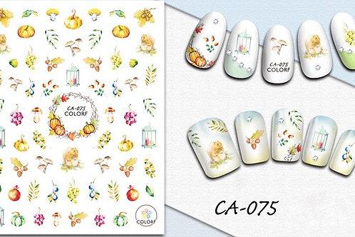 CA-075 3D Nail Decoration Sticker