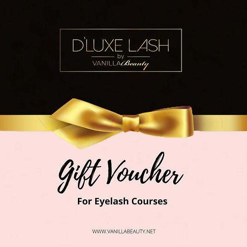 Gift Voucher (For Eyelash Courses)