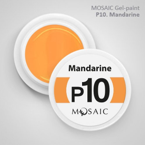 """Mandarine"" Gel Paint"
