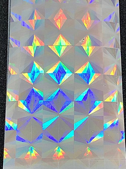Silver Holo Transfer Foil 06