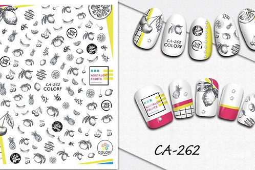 CA-262 3D Nail Decoration Sticker