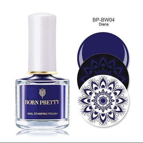 """Diana"" - Blue Stamping Polish 10 ml"