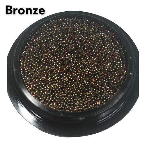 Bronze Mix Metalic Beads 0.6 mm