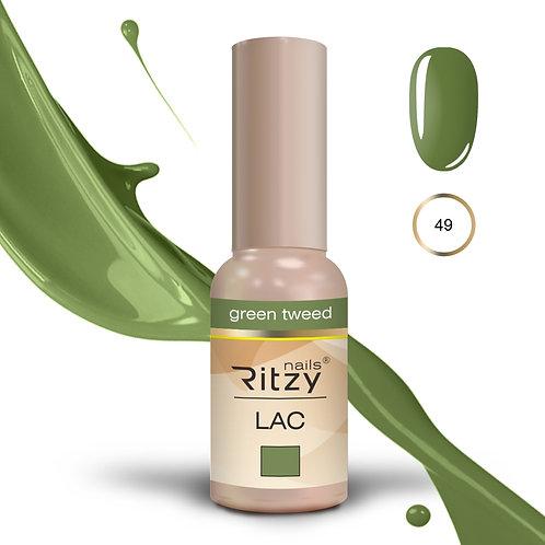 """green tweed"" 49 RITZY Lac"