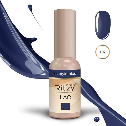 """in style blue"" 107 RITZY Lac"